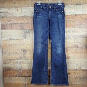 Seven For All Man Kind Jeans Women's Size 25 Denim